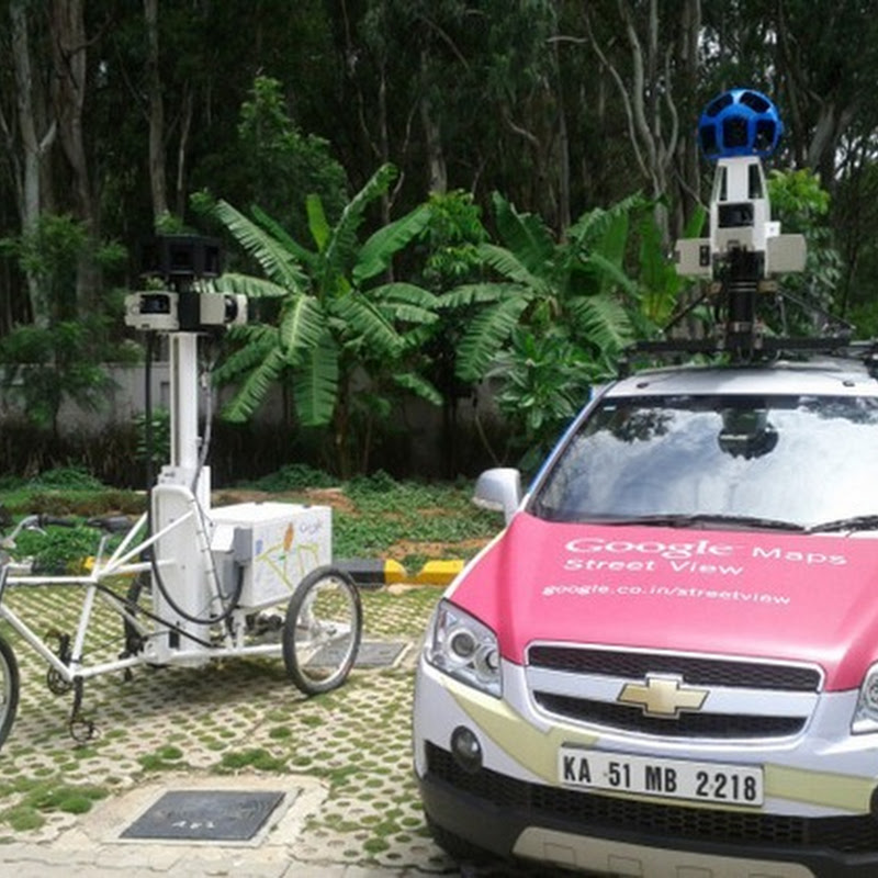 Google Street View Coming to India. Bangalore First