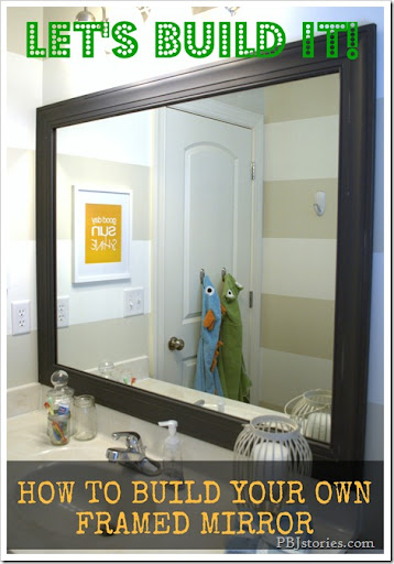 Luxury DIY to build your own mirror frame