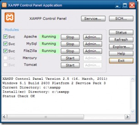 Membuat database Prestashop dengan Xampp