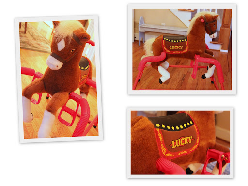 Holiday Gift Idea for Kids: Lucky the Rockin\' Rider Horse - Jolly Mom