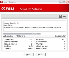 avira-scaning-detection-virus-from-flah-drive