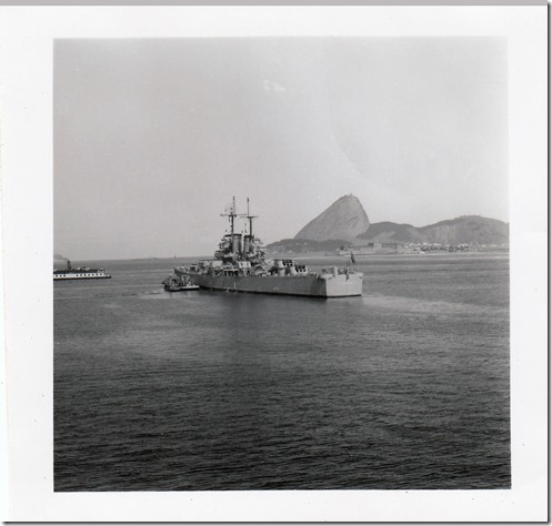 50 -  July 9, 1952 Rio de Janeiro, Brazil - View from the S.S. Brazil Photoshop Color Adjusted
