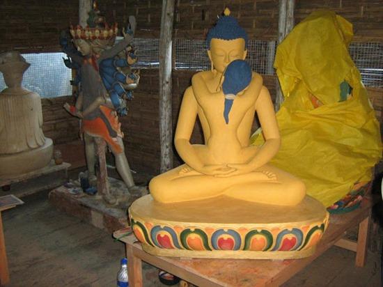 Hình tượng phối ngẫu trong Kim Cang Thừa