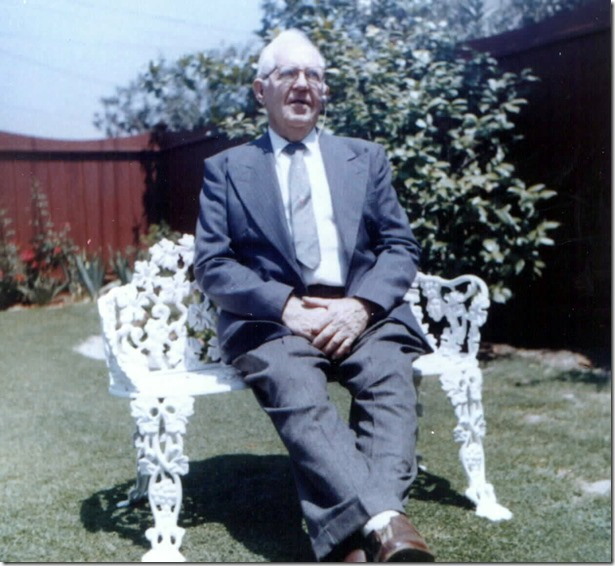 Carl Albert Gilberg 1962 in La Puente, California