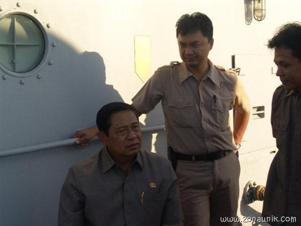 foto keseharian Presiden Indonesia Susilo Bambang Yudhoyono (12)