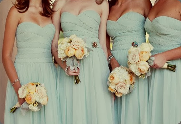 bridesmaids MiBelle arrangements floral design