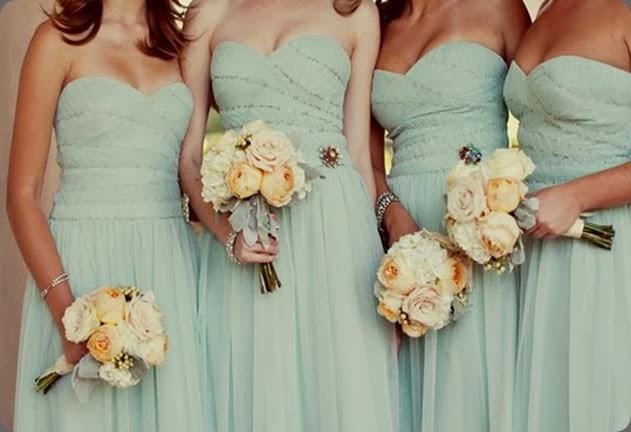 bridesmaids MiBelle arrangements floral design