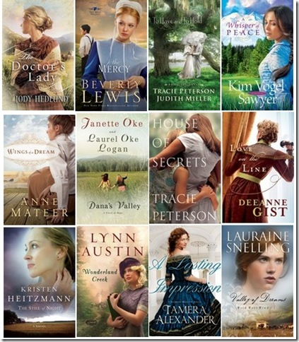 Bethany House Fall Books Callage