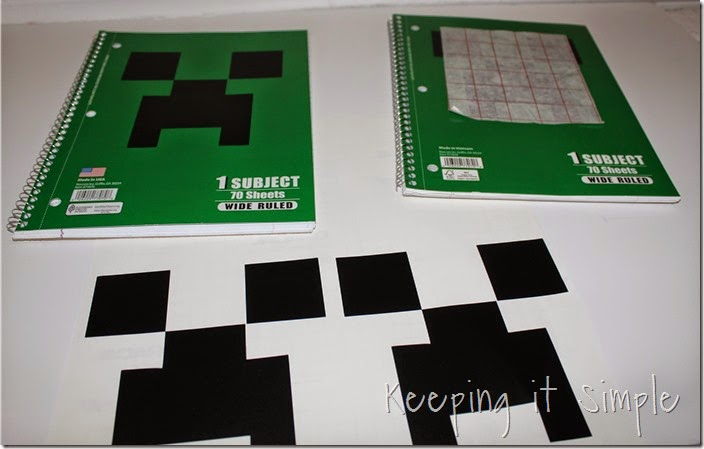 Minecraft Notebooks (4)