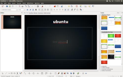 nuovi template per LibreOffice su Ubuntu 12.10