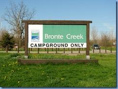 4352 Bronte Creek Provincial Park sign