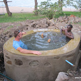 Testen van de badkuip