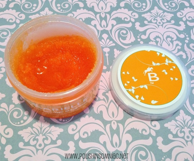 This scrub from Barielle is my favorite for getting stuck on glitter off my skin