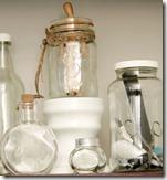 glass jar display