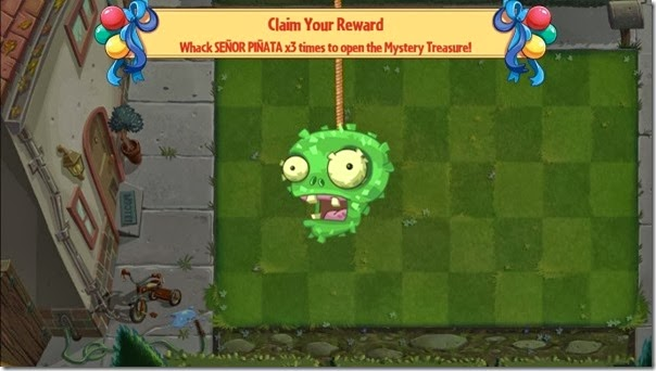 Plants vs Zombies 2 Senior Pinata