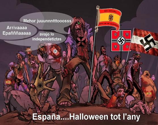 Halloween tot l'any Espanha Espanya España