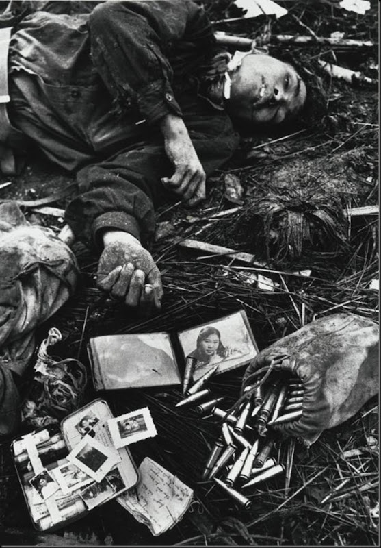 Body of a North Vietnamese soldier, Hue, Vietnam, 1968