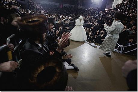 Свадьба еврейских ортодоксов