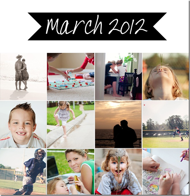 March Collage - 2012
