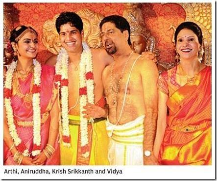 Arthi, Aniruddha,Krish Srikanth and Vidya