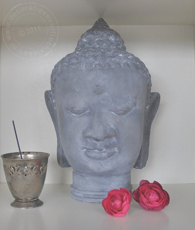 verftechnieken-Buddah-betonlook