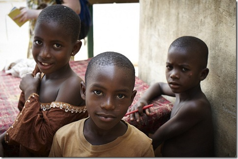 Yawa Dotse, 49, grains food stall,  ApaktamE, Togo. Care International trip 13/02/11 to 16/02/11