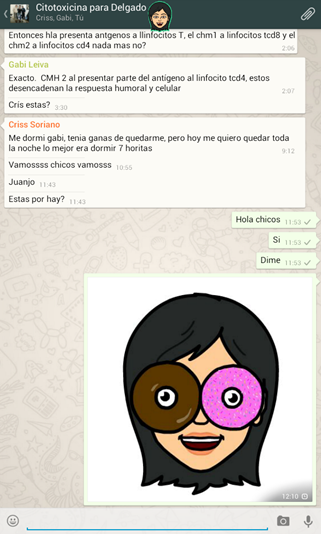 Inserta tu sticker de Bitmoji en WhatsApp