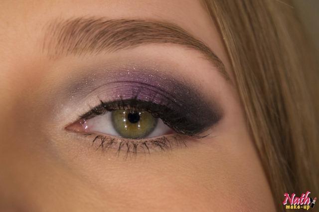 detalhe sombra maquiagem olhos