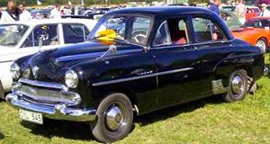 Vauxhall 1951 Velox EIP
