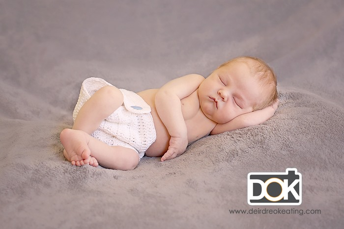 moab newborn photography baby boy sleeping