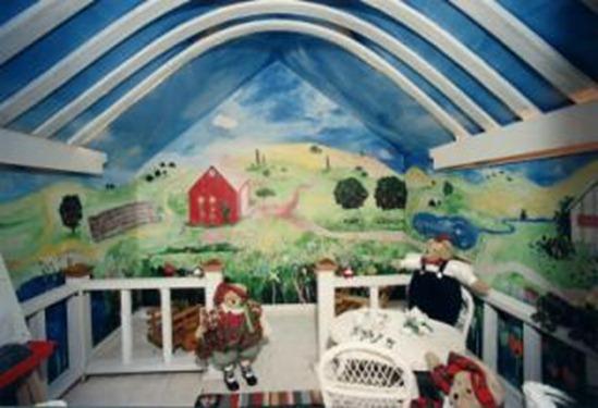 Contoh Desain Interior Kamar Anak-anak Imut dan Unik