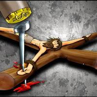 XI EstaçãoJesus é crucificado