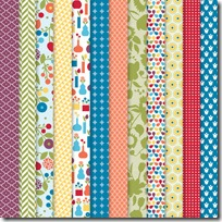 Summer Smooches Designer Paper