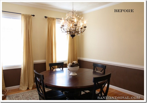 Dining room before text
