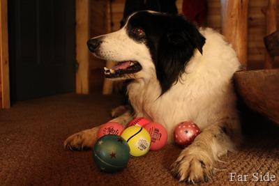 Six new balls