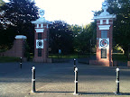 Jan 16 - The grand gates of Queens Park, Invercargill, NZ.