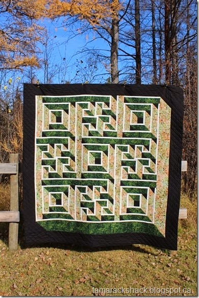Tamarack Shack Labyrinth Walk Quilt Magnificent Labyrinth Walk Quilt Pattern Free