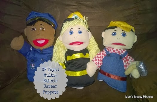 CP Toys Multi Ethnic Career Puppets