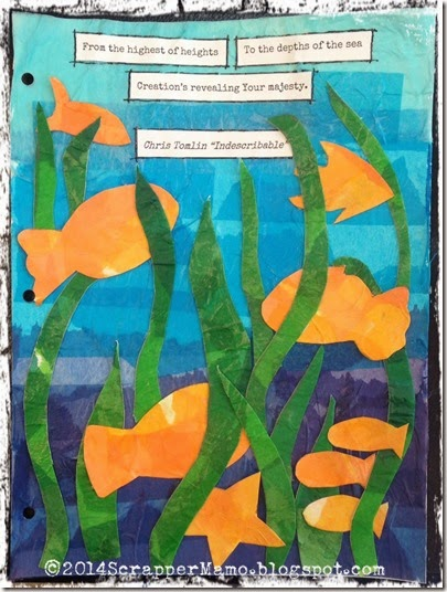 journal52 week 26 under the sea