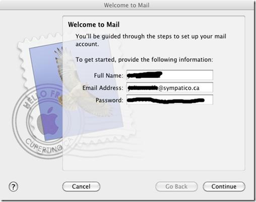 sympatico in mail