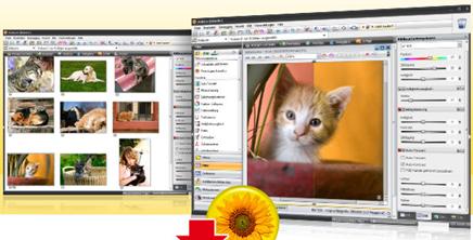 Screenshots do StudioLine Photo Basic (www.studioline.net)