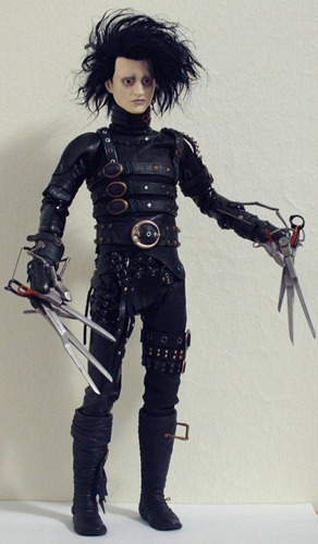 Custom Hot Toys Edward Scissorhands de *Shan-Lan