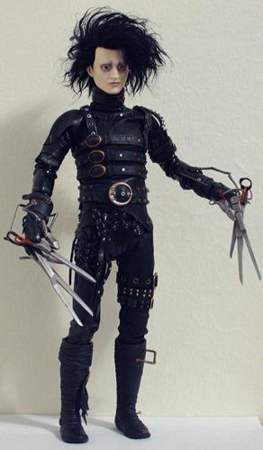 Custom Hot Toys Edward Scissorhands de *Shan-Lan