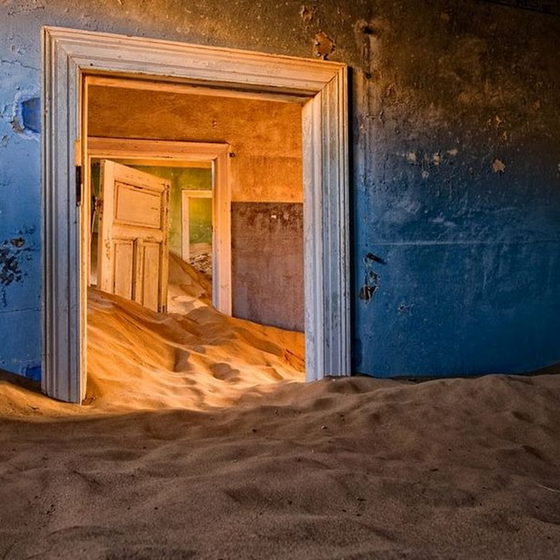 Kolmanskop, a Ghost Town Devoured by the Namibian Desert