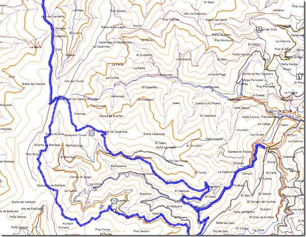 Mapa de Besullo