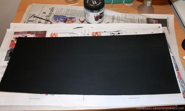 Chalkboard Sign - homework (carolynshomework (1)