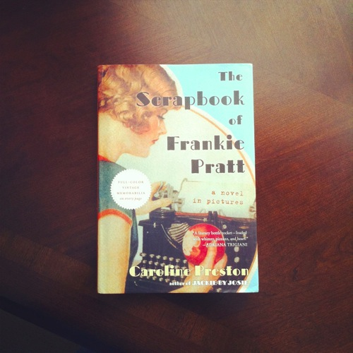 Book Review  Scrapbook of Frankie Pratt