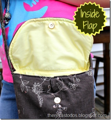 Crossbody Inside Flap