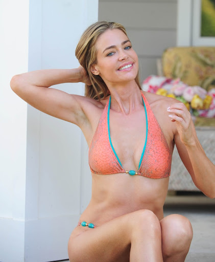 Denise richards another sexy bikini photoshoot by albert michael in la