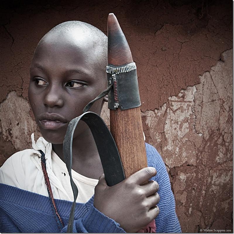 Masai Girl Walter Scappini